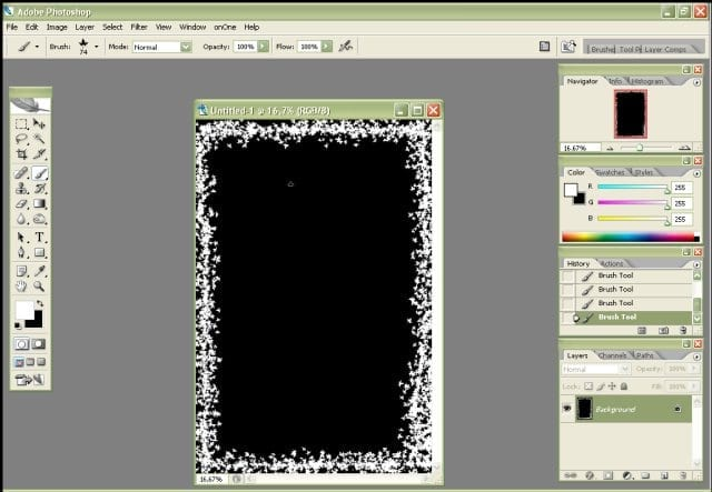 Creating Reuseable Borders in PhotoShop