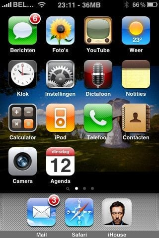 Changing your iPhone's springboard background with Winterboard