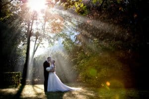 Tying the knot under the rays of the sun - Wedding Photography http://fotografieLuna.be