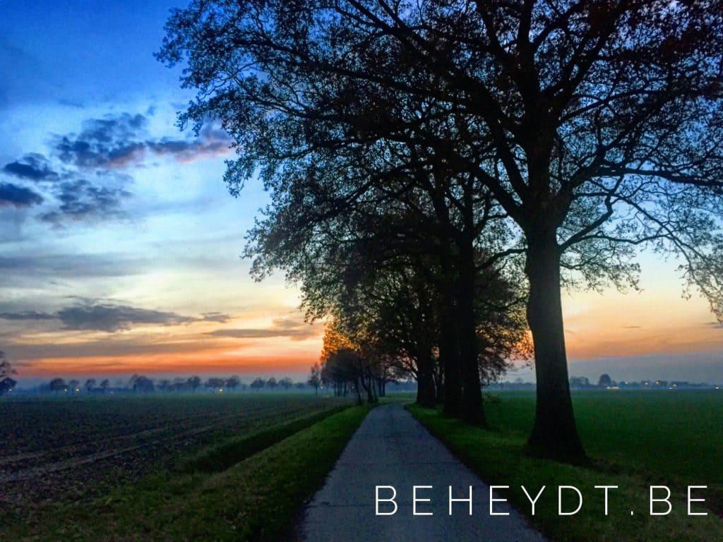 Countryside Sunset - Landscape Photography by Bjorn Beheydt - http://Fotografieluna.be
