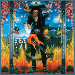 Playing electric guitar - Steve Vai's Passion and Warfare