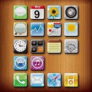Goodlucky365 18pcs Phone Icon Magnet, Iphone App Magnets, Fridge Magnets,funny Magnets_large_image_attachment