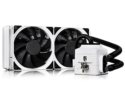 DEEPCOOL CAPTAIN 240 Extreme Performance AIO Liquid CPU Cooler(AM4 Compatible), White