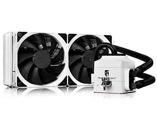 DEEPCOOL CAPTAIN 240 Extreme Performance AIO Liquid CPU Cooler(AM4 Compatible), White