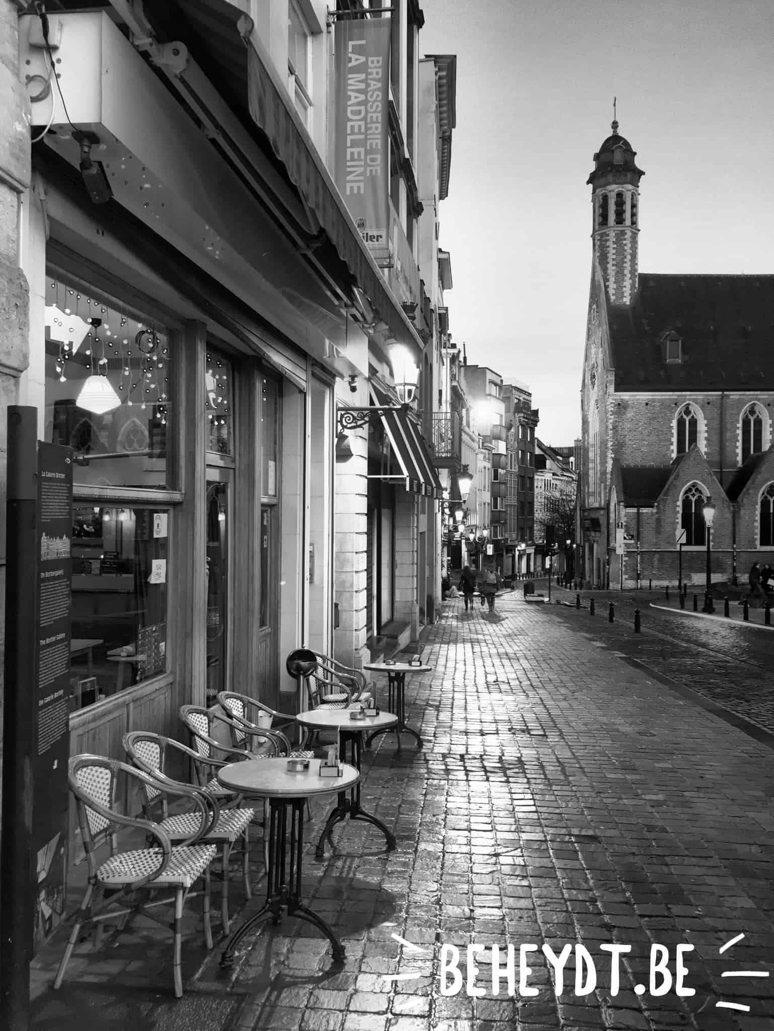 Coffee in Brussels