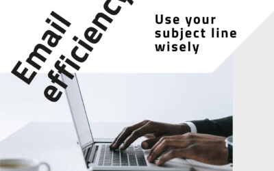 Email efficiency: use your subject line wisely